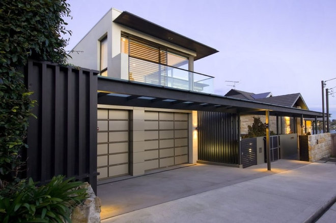 Contemporary Exterior by Bayview Design Group Australia