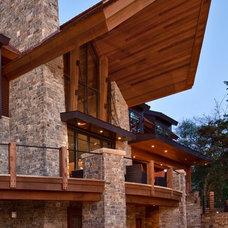 Contemporary Exterior by Denali Custom Homes, Inc.