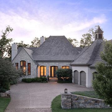 Luxury Villa - Front Elevation