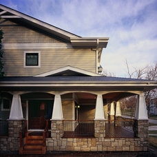 craftsman exterior by 12/12 Architects & Planners - Cinda K. Lester