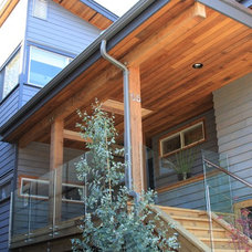 Contemporary Exterior by M-Squared Contracting Inc.