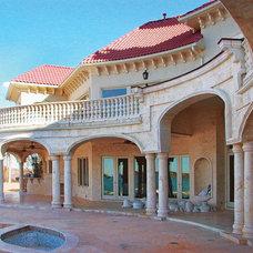 Mediterranean Exterior by DeSantana Stone Company