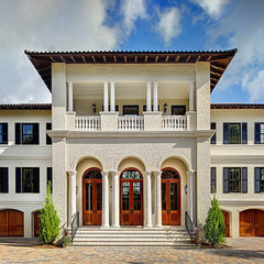 mediterranean exterior by Priester's Custom Contracting, LLC