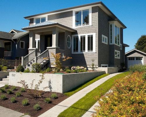 Best Benjamin Moore Chelsea Gray Exterior Home Design Ideas Remodel Pictures Houzz