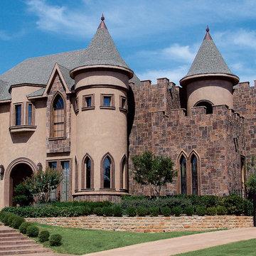 Magnificent Belgian Castle House - Coronado Manufactured Stone
