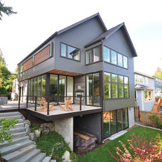 Modern Exterior by Ryan Rhodes Designs, Inc.