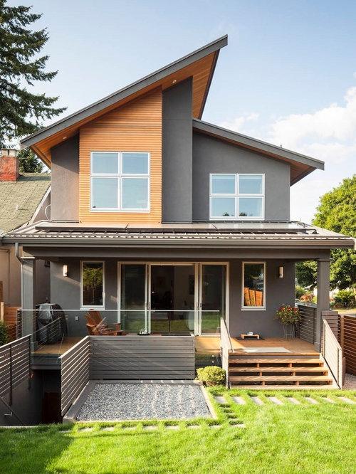 Offset Roof Home Design Ideas Renovations Amp Photos