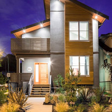 Contemporary Exterior by Architrix Design Studio Inc.