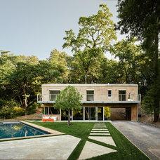Contemporary Exterior by Hudson Street Design