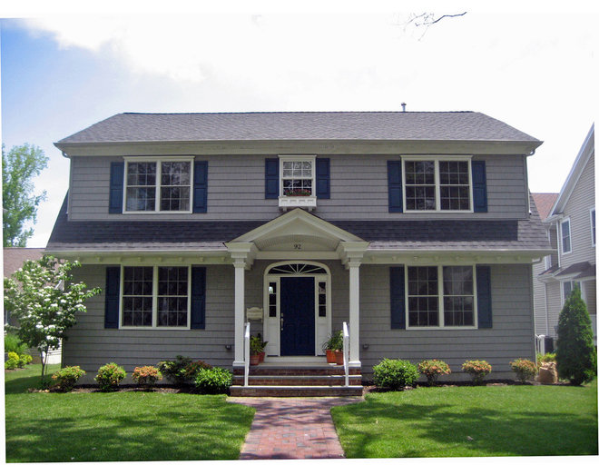 14 artistic colonial porch architecture plans 83271 for Colonial house plans with porch