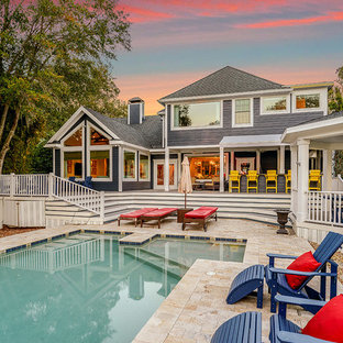 Coastal exterior home photo in Orlando