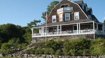 Maine beach house