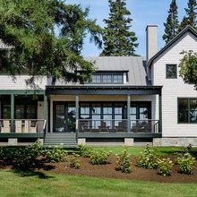 Houzz Tour: Warm Modern Style on the Coast of Maine