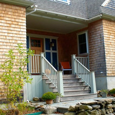 Traditional Exterior by Joseph B Lanza Design + Building