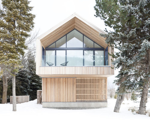 Best Mountain Chalet Wood House Design Ideas Remodel