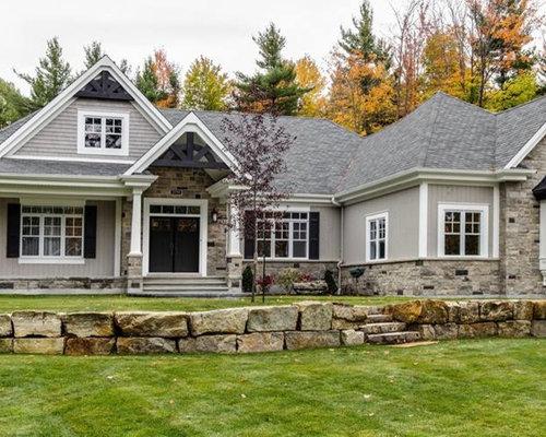 Maison sur mesure de style craftsman conception r alis e for Conception de maisons sur mesure