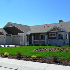 Traditional Exterior by Housing & Building Association of Colo. Springs