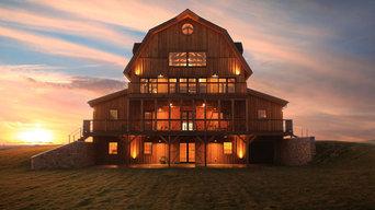 Majestic Gambrel Home in Missouri