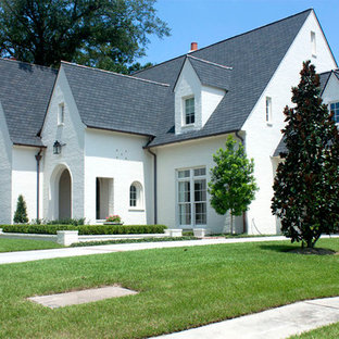 Inspiration for a timeless exterior home remodel in New Orleans