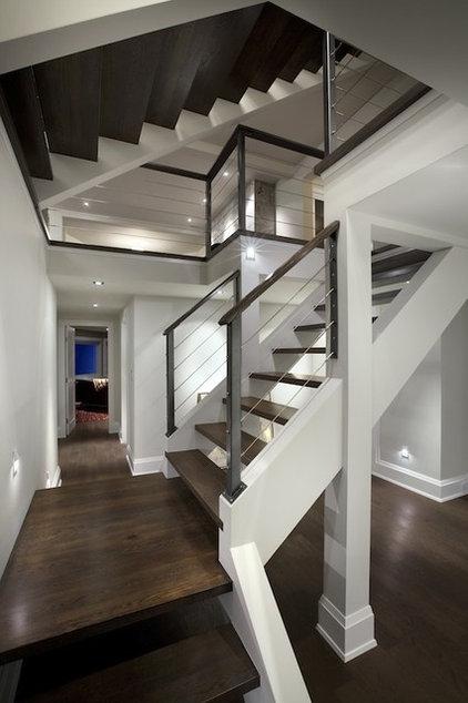 Contemporary Exterior by Architrix Design Studio Inc.