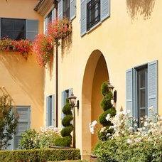 Mediterranean Exterior by Biglin Architectural Group