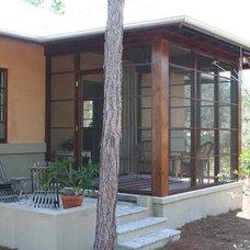 Asian Exterior by O'Shea Builders Inc.
