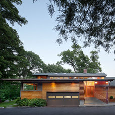 Contemporary Exterior by Stephen Moser Architect