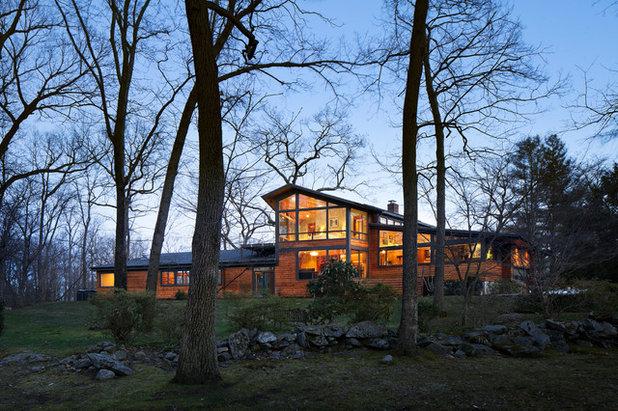 Contemporáneo Fachada by Stephen Moser Architect