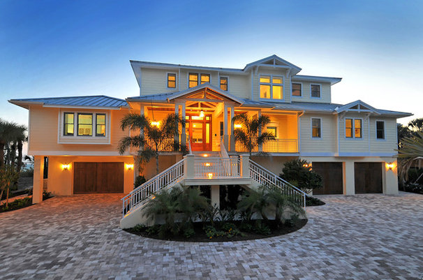 Tropical Exterior by Wicked Smart Homes