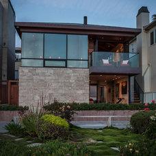 Contemporary Exterior by Beach House Design & Development