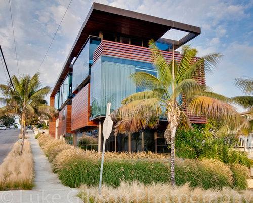 manhattan beach ultra modern landscape design