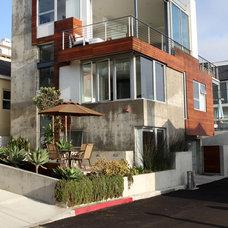 Modern Exterior by Custom Design & Construction