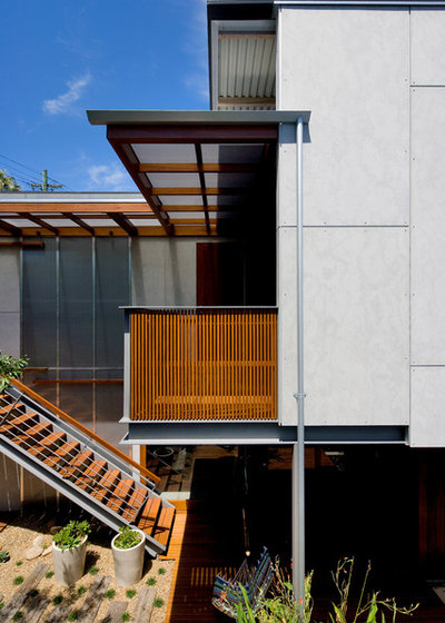 Contemporary Exterior by Watershed Design