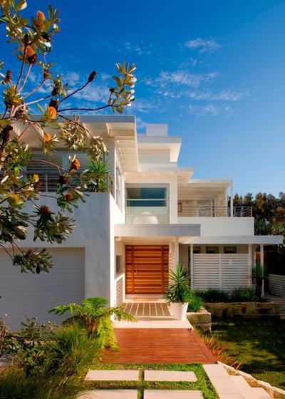 Contemporary Exterior by Sanctum Design