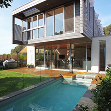 Contemporary Exterior by Sandberg Schoffel Architects