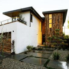 Contemporary Exterior by Hillstar construction services