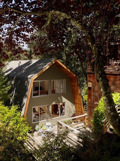 Rustic Exterior by Burton Architecture