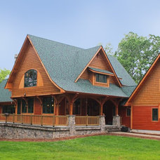 Traditional Exterior by Summit Custom Homes