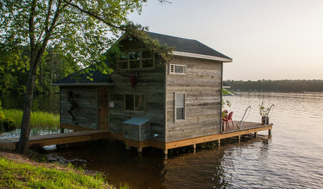 USA Houzz: Lakeside Home Away From Home
