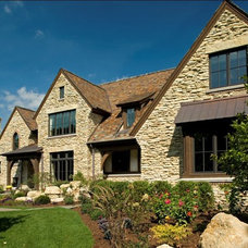 Rustic Exterior by Avondale Custom Homes