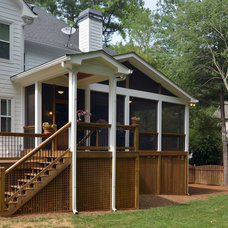 Traditional Exterior by Weidmann Remodeling