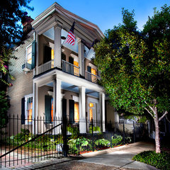traditional exterior by Chad Chenier Photography