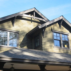 Traditional Exterior by Gregory Dedona Architect