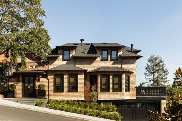 Traditional Exterior by Laura Hunt Design