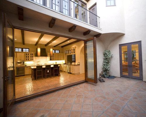 Accordion Doors Exterior Home Design Ideas, Remodels & Photos