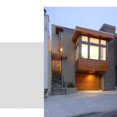Modern Exterior Mark Brand Architecture
