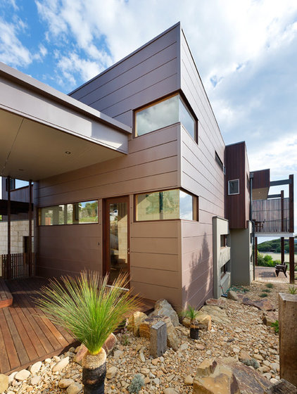 Modern Exterior by Matthew Mallett Photography