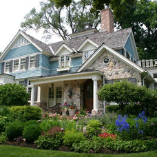 Traditional Exterior by Mark Hickman Homes