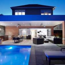 Contemporary Exterior by Mark MacInnis Architect