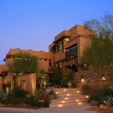 Contemporary Exterior Marquis Las Vegas (2009 New American Home)
